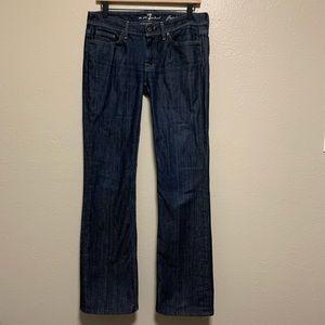 7FAMK Flynt dark wash bootcut denim jeans